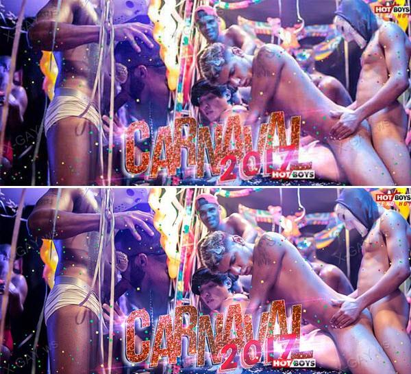 HotBoys: Baile de Carnaval 2017 Parte 2 (Dom, Felipe Negao, Jhonatan Coimbra, Lukas Katter) (Bareback)