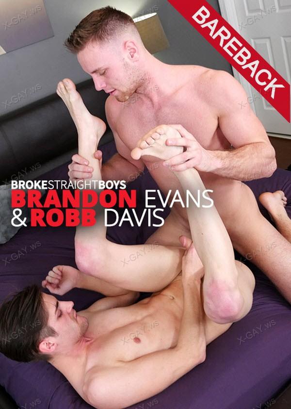 BrokeStraightBoys: Robb Davis Bareback Riding Brandon Evans