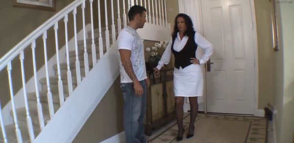 Mom Coming Home From Work – Margo Sullivan HD