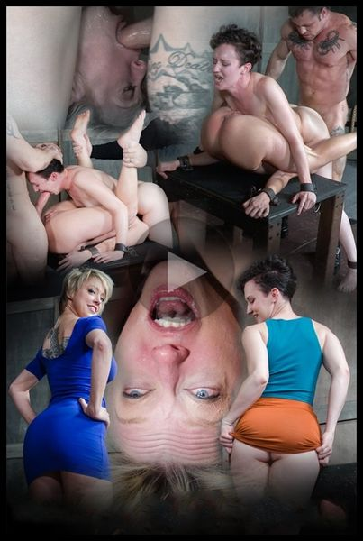 Bonnie Day & Dee Williams bound in a Sexually Broken Sixty Nine. Brutal face and pussy fucking (Release Date: March 31, 2017)