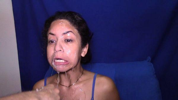Deep throat latina women