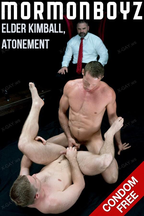 MormonBoyz: Elder Kimball, Atonement (with Brother Hales) (Bareback)