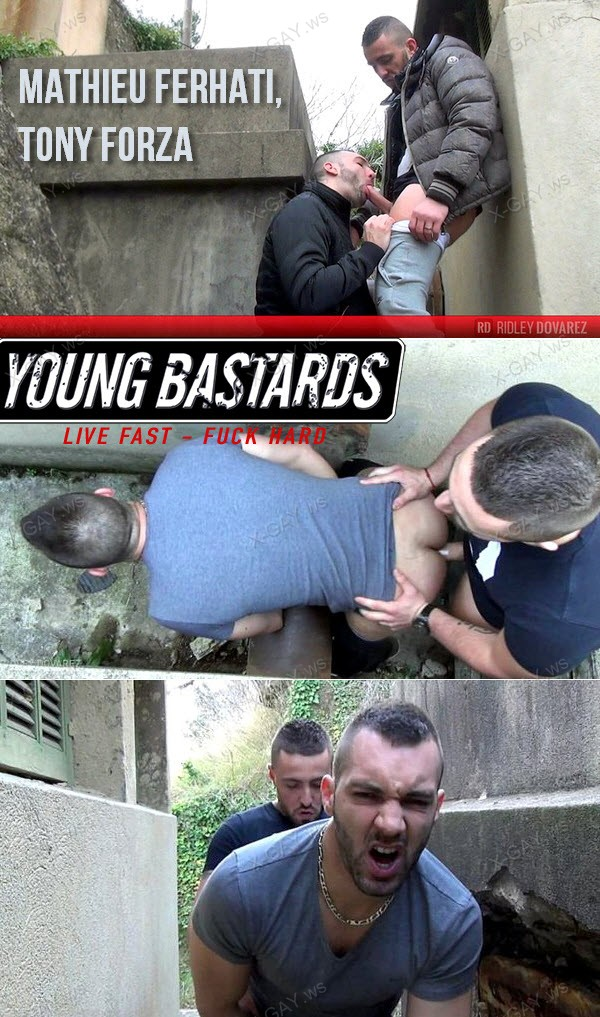 YoungBastards: Taurus Dick For Hungry French Bottom (Mathieu Ferhati, Tony Forza)