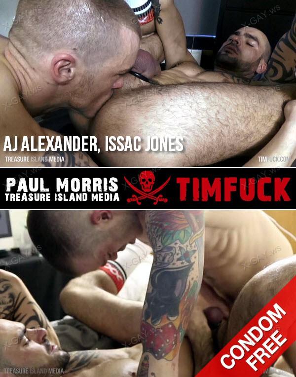 TimFuck: AJ Alexander, Issac Jones (Bareback)