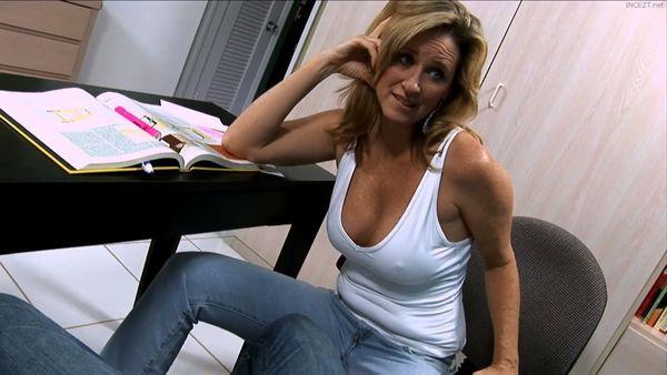 Jodi West – Depressed Son Gets Helpful Mommy Handjob HD