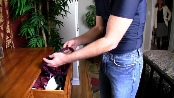 Son Caught In The Panty Drawer by Mrs. West HD