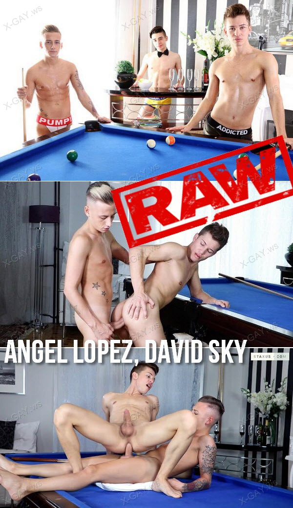 Staxus: Rich Bitch (Angel Lopez, David Sky) (Bareback)