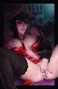 [Hentai Artwork] Art by TagoVanTor [demon girl]