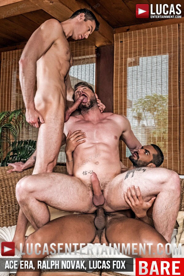 LucasEntertainment: Ace Era And Ralph Novak Cuckold Lucas Fox (Bareback)