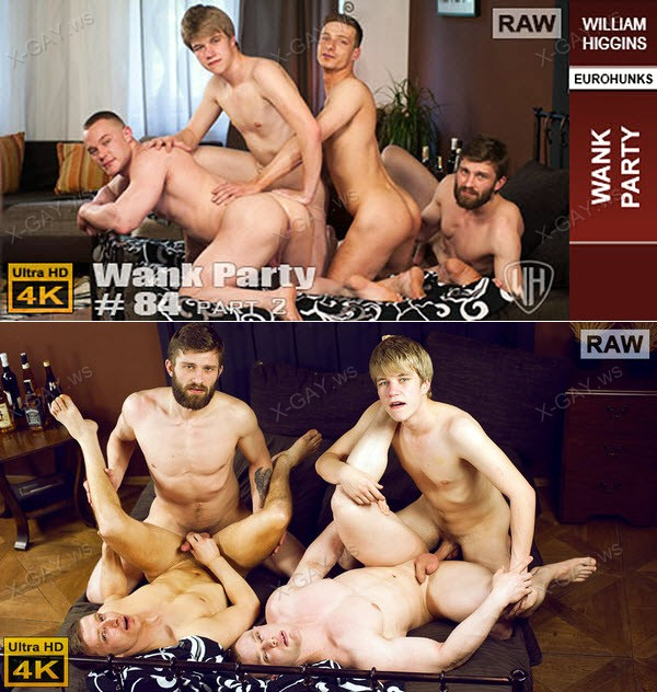WilliamHiggins: Wank Party #84, Part 2 (RAW, WANK PARTY)