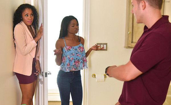 Mothers Interracial Interaction – Mya Mays and Jasmyne De Leon HD