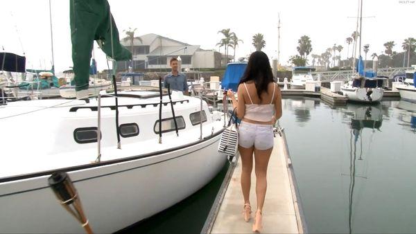 Megan Rain Fucks Her Step Father On His Boat HD 1080P