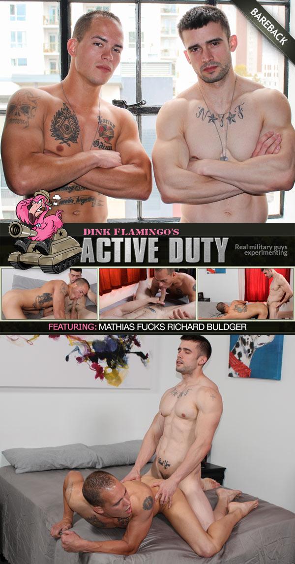ActiveDuty: Mathias, Richard Buldger (Bareback)