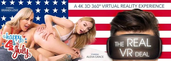 Alexa Grace, Brandi Love – The Real VR HD