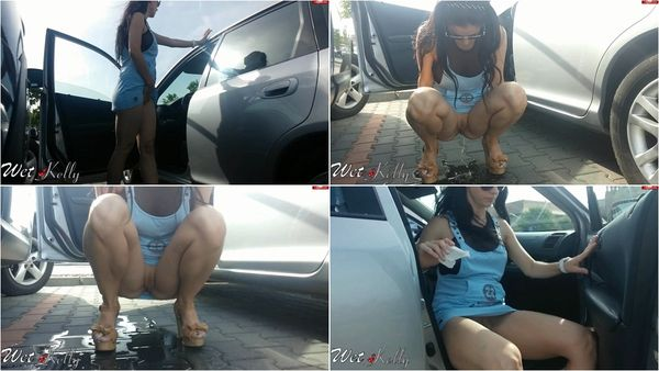 Pee In The Parking A Lot [MyDirtyHobby] Wet Kelly (1080p)