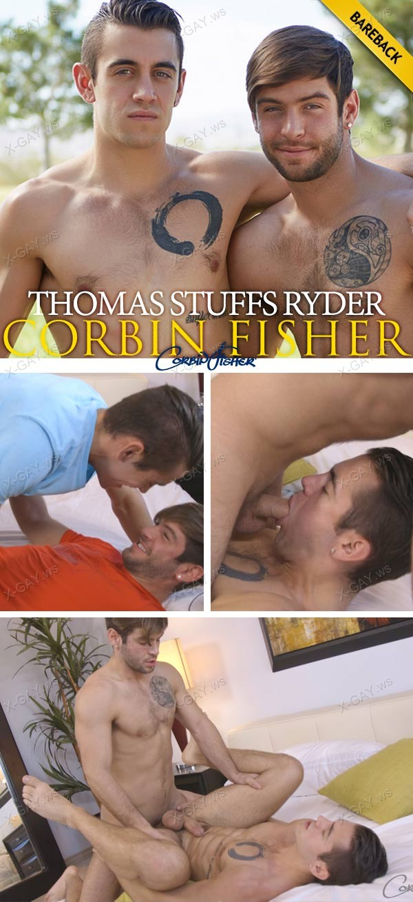 CorbinFisher: Thomas Stuffs Ryder (Bareback)