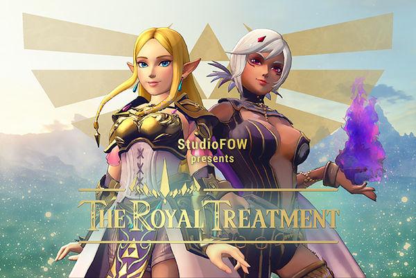 [StudioFOW] [3D Hentai Anime] The Royal Treatment (2017) [elf girl] Full HD 1080p