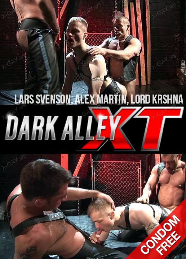 DarkAlleyXT: 3 Not So Little Pigs (Lars Svenson, Alex Martin, Lord Krshna) (Bareback)