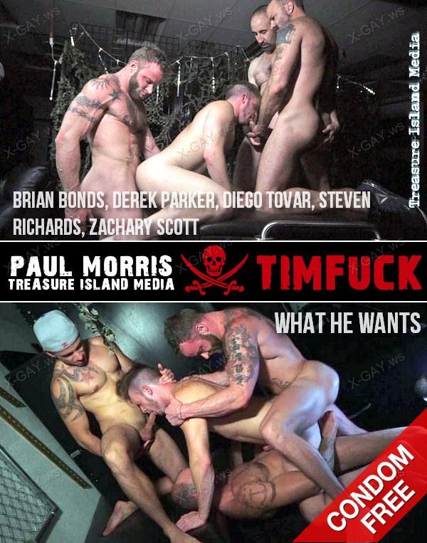 TimFuck: Kenny's Raw Fucks Volume 1, Scene 9: What He Wants (Brian Bonds, Derek Parker, Diego Tovar, Steven Richards, Zachary Scott) (Bareback)