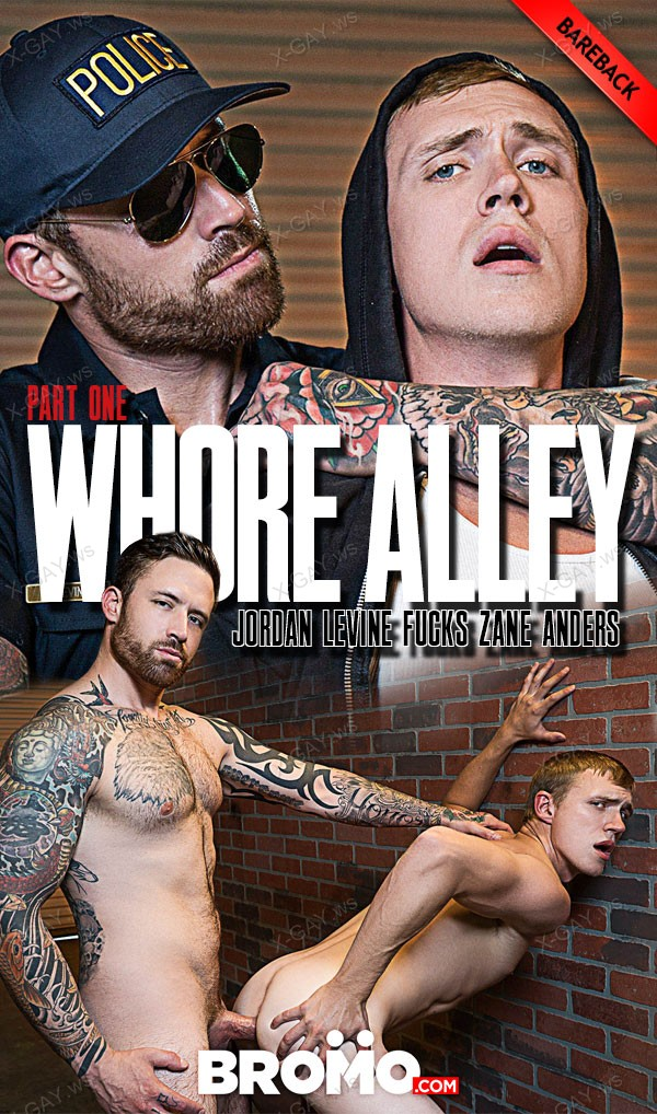 Bromo: Whore Alley, Part 1 (Jordan Levine, Zane Anders) (Bareback)