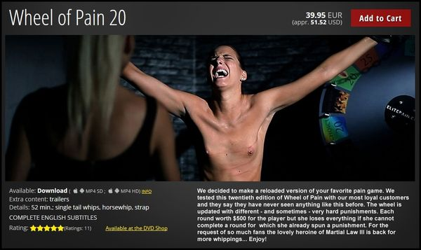 Wheel of Pain 20 | HD 720p | Release Year: August 11, 2017