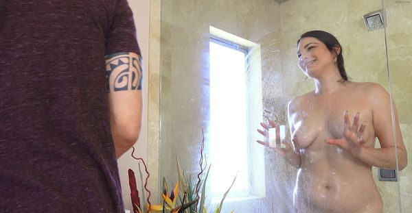 SOAPY SHOWER SUCK – Madeline Blue HD