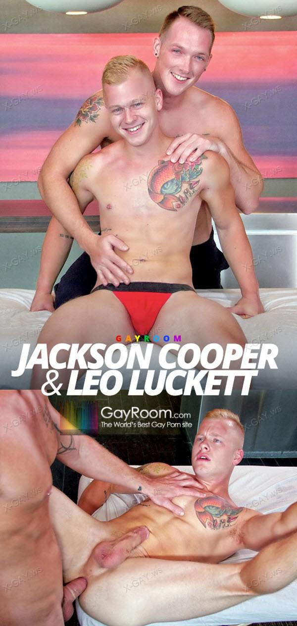 GayRoom: Rub Me Tender (Jackson Cooper, Leo Luckett)