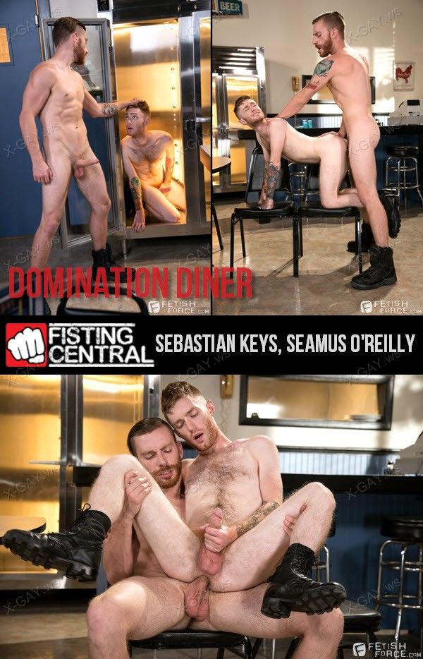 FetishForce: Domination Diner (Sebastian Keys, Seamus O'Reilly)