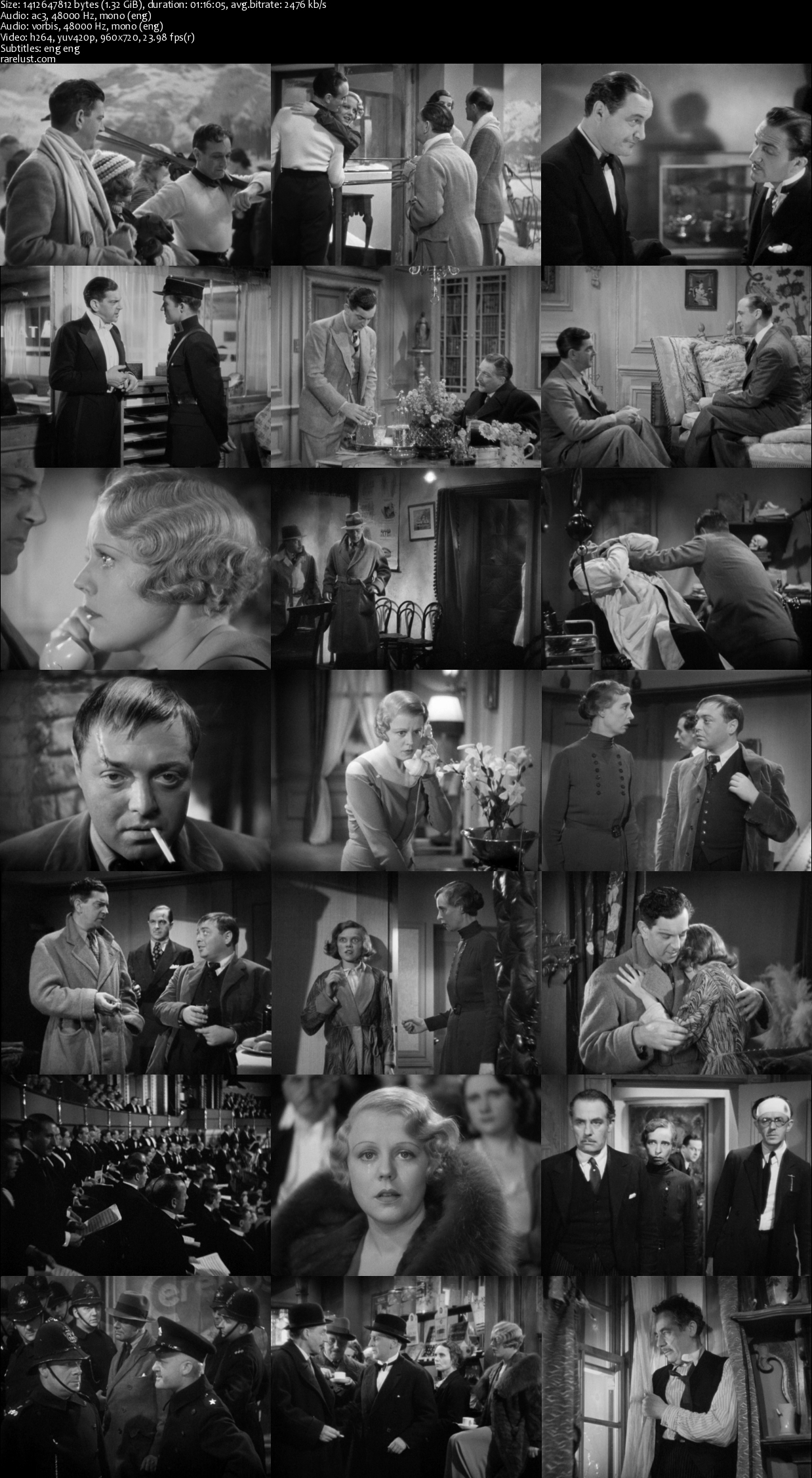 The Man Who Knew Too Much (1934) BRRip [1.32GB]