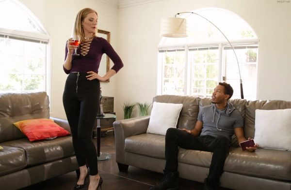 MY DAUGHTER'S BLACK COCK – Mona Wales HD