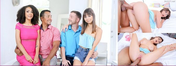 The Daddy Swap Pt.1 – Ariana Aimes And Shae Celestine HD