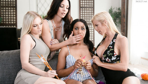 Alexis Fawx, Mindi Mink, Alex Grey & Jenna Foxx – The Daisy Chain HD