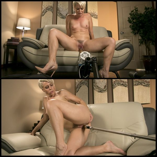 Sexy Blonde Cougar Takes Our Machines for a Spin | HD 720P | Release Year: Sep 14, 2017