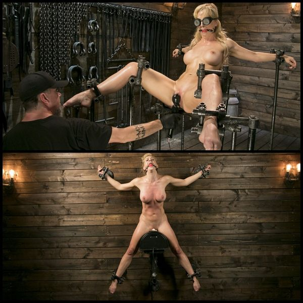 Athletic MILF Fuck Toy Cherie Deville Punished in Bondage and Sybian | HD 720P | Release Year: Sep 21, 2017
