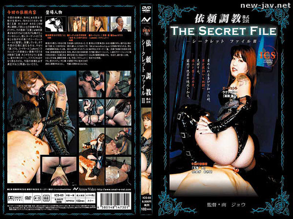 Cover [ICS-03] 3, Inc. Discipline Secret File Request