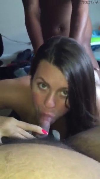 Tranny Sucking Own Dick