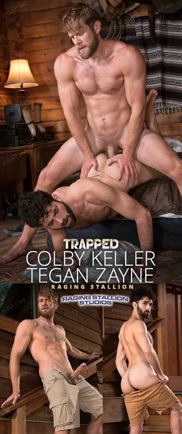 RagingStallion: Trapped (Colby Keller, Tegan Zayne)