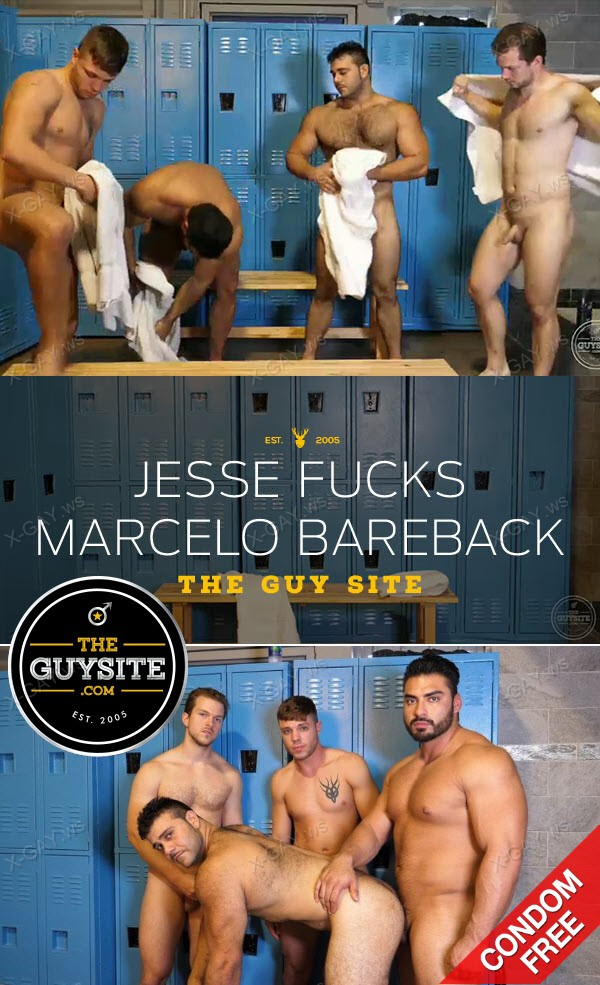 TheGuySite: Jessie James, Marcelo, Sam (Jesse Fucks Marcelo Bareback)