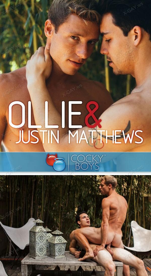 CockyBoys: Justin Matthews, Ollie