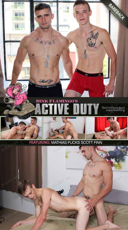 ActiveDuty: Scott Finn, Mathias (Bareback)