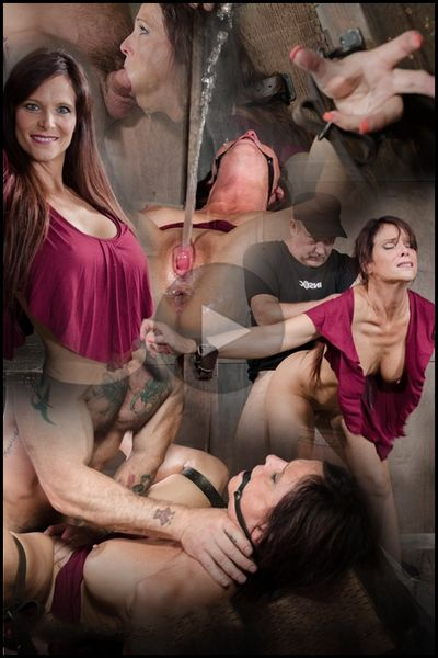 Sexy MILF Syren De Mer gets what she wants; brutal face fucking, two cock beatdown | HD 720P | Release Year: November 13, 2017