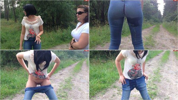 Jeans Piss - In Die Hose Abgestrahlt [MyDirtyHobby] Miss-Doertie (110 MB)