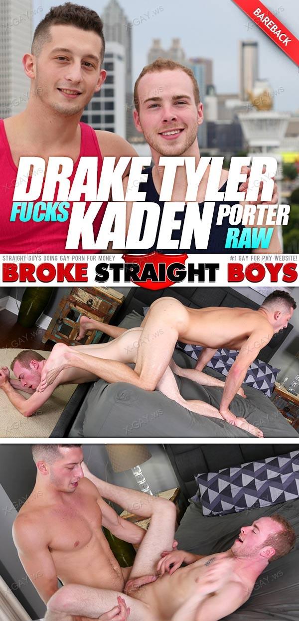 BrokeStraightBoys: Drake Tyler, Kaden Porter (Bareback)