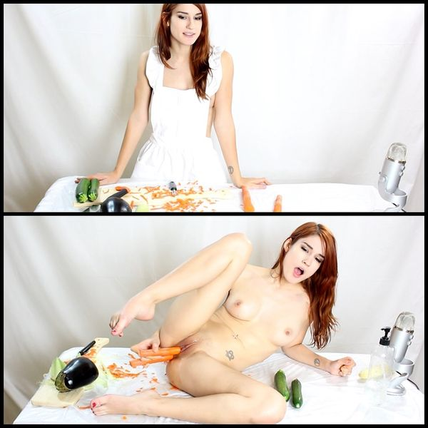 Chef Mia Fucks Vegetables with Mia Rand