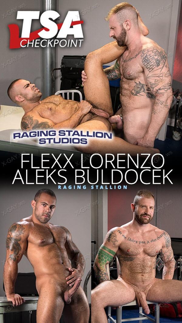 RagingStallion: Aleks Buldocek, Lorenzo Flexx (TSA Checkpoint)