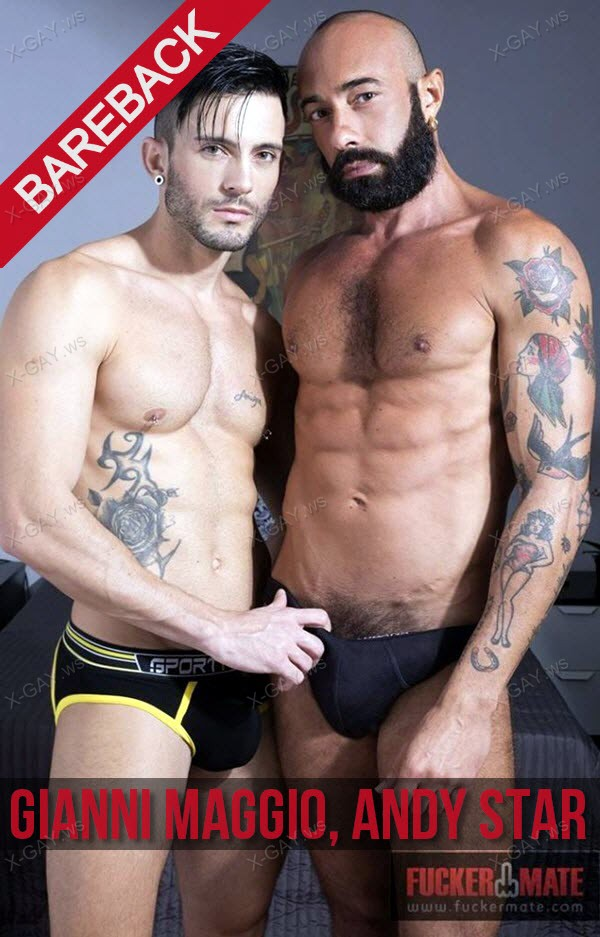 FuckerMate: Gianni Maggio, Andy Star (Big Friday) (Bareback)
