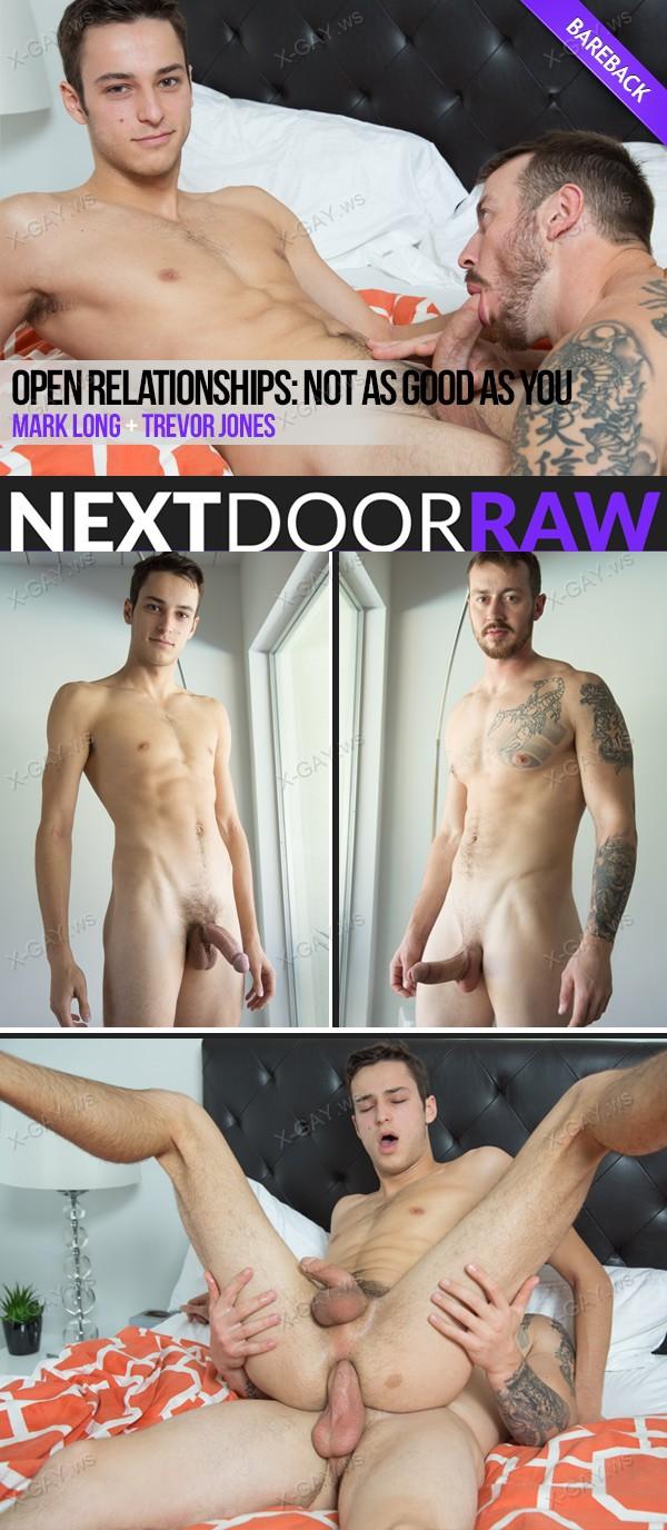 NextDoorRaw: Trevor Jones, Mark Long (Open Relationships, Part 1: Not as Good as You) (Bareback)