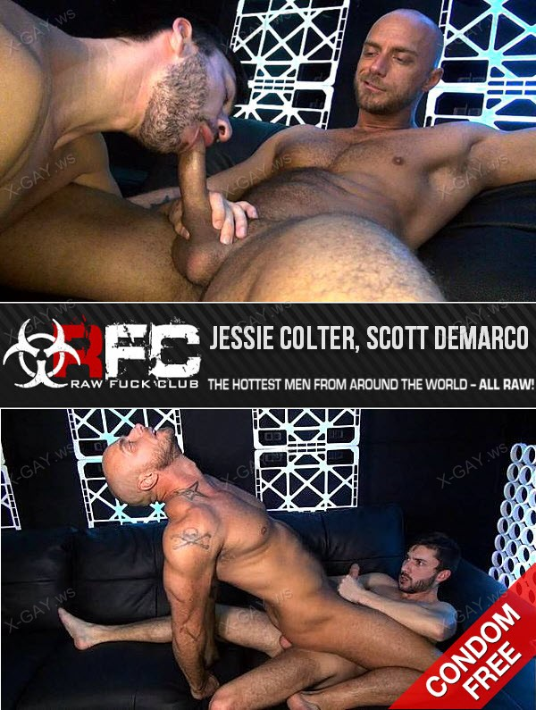 RawFuckClub: Jessie Colter Takes Scott DeMarco's Raw Cock and Load