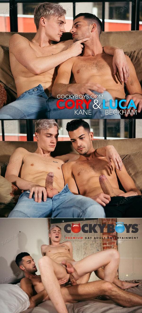 CockyBoys: Cory Kane Pounds Luca Beckham