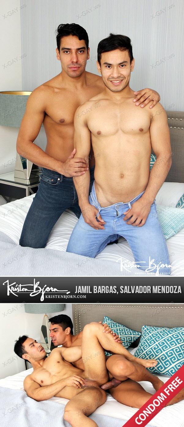 KristenBjorn: Jamil Bargas, Salvador Mendoza (Casting Couch #378) (Bareback)
